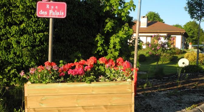 Le fleurissement du village