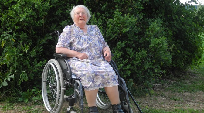 Récit de vie : Denise Chatelain, doyenne du village