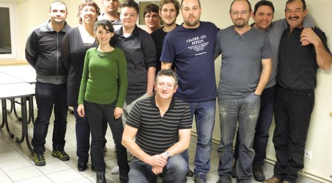 AG de l'Amicale des Sauterelles : la nouvelle équipe !