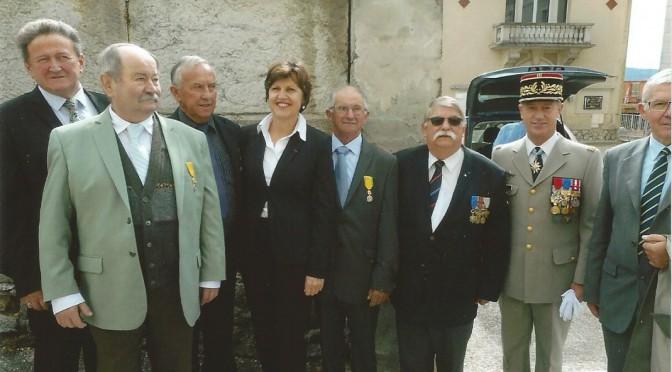 La médaille militaire pour M. Joseph Mougin