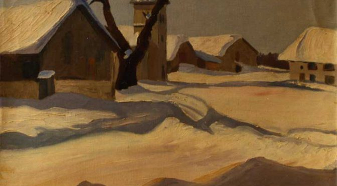 Un peintre à La Chenalotte : Gaston Robbe (1900 – 1954)