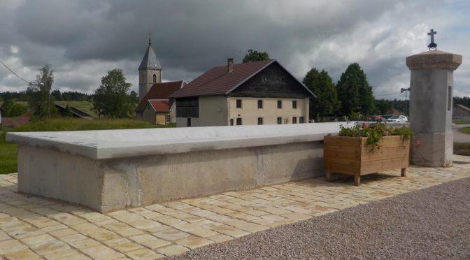 Inauguration et remise en eau de la fontaine Samedi 09 juillet