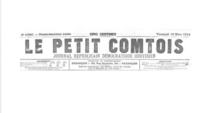 05 Janvier 1888 : actes de brutalité à La Chenalotte