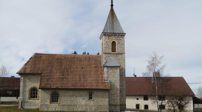 Travaux sur le clocher
