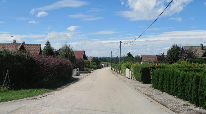 Travaux des rues des Tourbières et de Rosemont