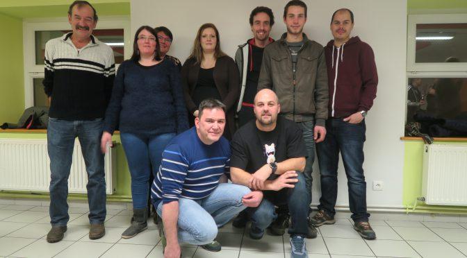 Amicale des Sauterelles : l'équipe 2018