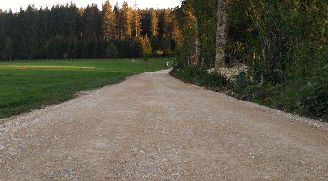 Des travaux sur les chemins ruraux