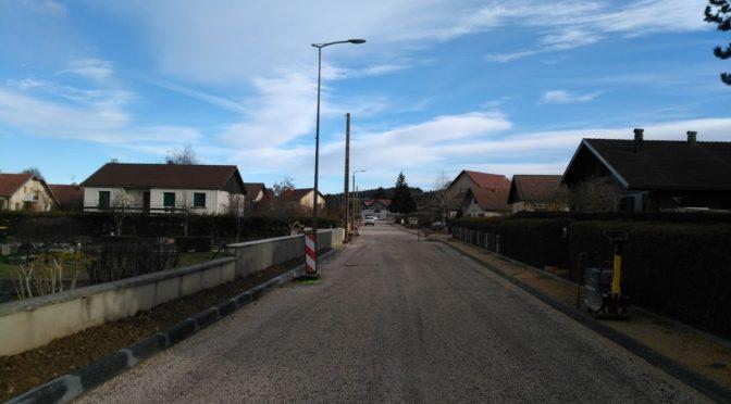 Le chantier de la rue des Tourbières et de Rosemont en photos. 3