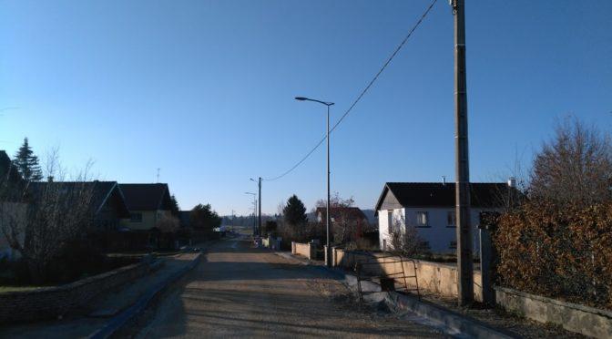 Le chantier de la rue des Tourbières et de Rosemont en photos. 2