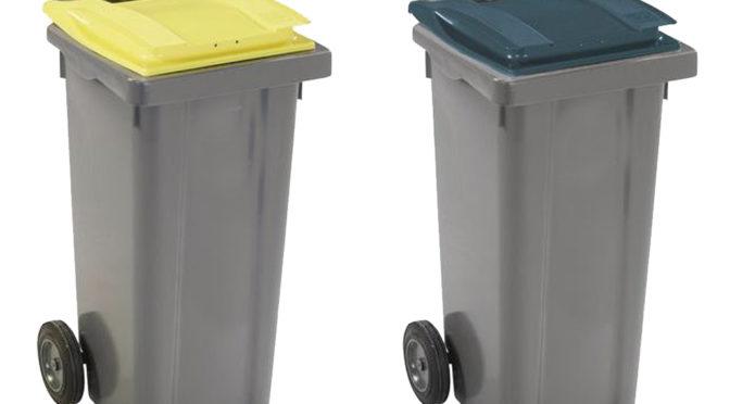 Calendrier de collecte bacs jaunes et bacs verts