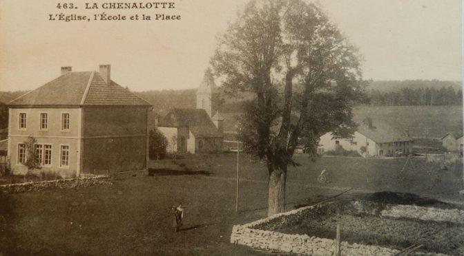 Une histoire de l'école de La Chenalotte. 3. Le retour de l'ecole communale (1876 – 1899)