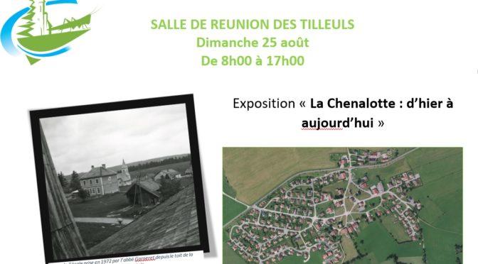 Expo «La Chenalotte : d'hier à aujourd'hui. le 25 août