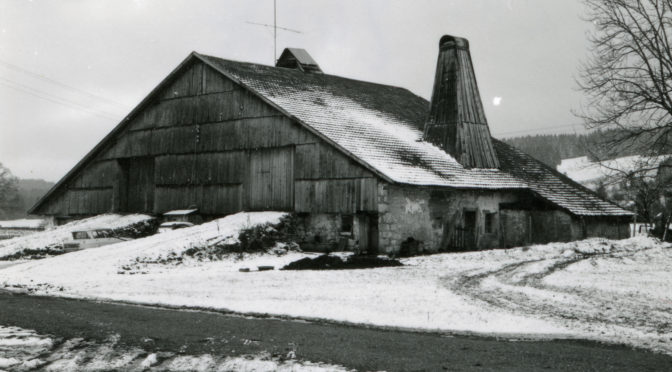 Photos de l'abbé Garneret. 2. La ferme Thiébaud