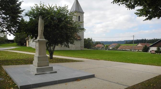 Travaux au monument aux morts