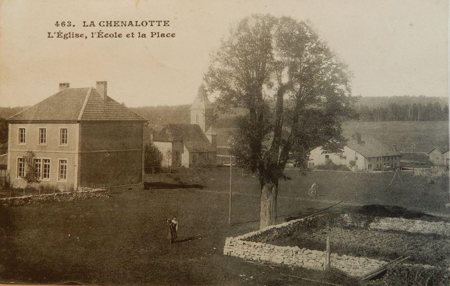 Exposition / livre sur l'histoire de l'école de La Chenalotte : aidez-nous !