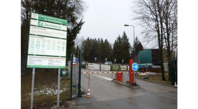 Réouverture de la déchétèrie des fins et de la plate-forme des déchets verts du Russey
