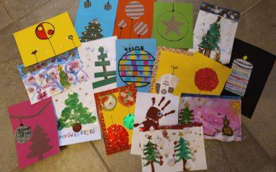 503 cartes de vœux créées par les élèves de l'école intercommunale